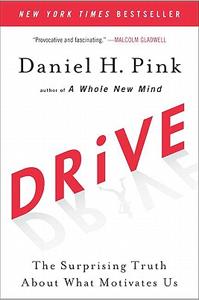 "Daniel Pink's bestselling book ""Drive"""